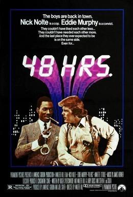 Постер фильма 48 часов (1982)