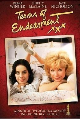 Постер фильма Язык нежности (1983)