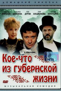 Постер фильма Кое-что из губернской жизни (1983)