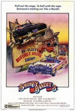 Постер фильма Смоки и Бандит 3 (1983)