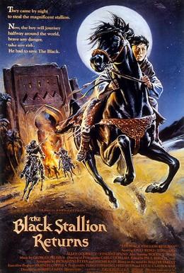 Постер фильма Возвращение черного скакуна (1983)