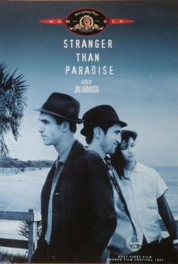 Постер фильма Более странно, чем в раю (1984)