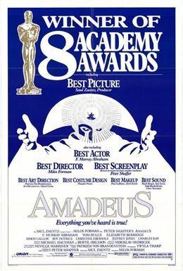 Постер фильма Амадей (1984)