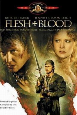 Постер фильма Плоть + кровь (1985)