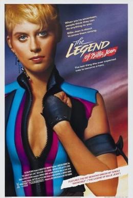 Постер фильма Легенда о Билли Джин (1985)