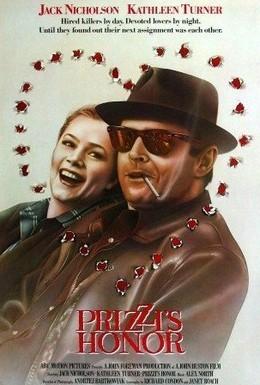 Постер фильма Честь семьи Прицци (1985)