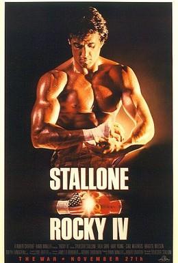 Постер фильма Рокки 4 (1985)