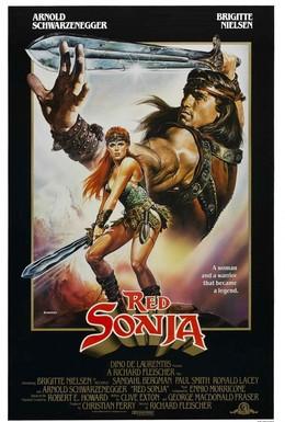 Постер фильма Рыжая Соня (1985)