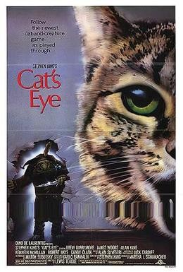 Постер фильма Кошачий глаз (1985)