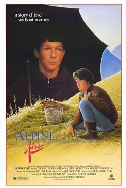 Постер фильма Горные огни (1985)