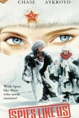 Постер фильма Шпионы как мы (1985)
