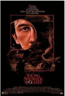 Постер фильма Молодой Шерлок Холмс (1985)