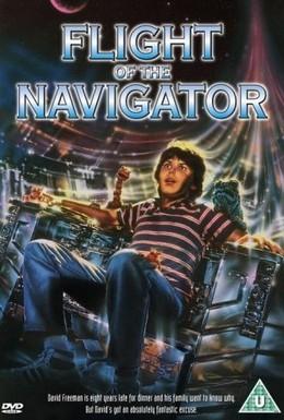 Постер фильма Полет навигатора (1986)
