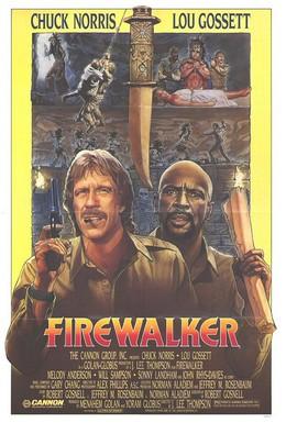 Постер фильма Идущий в огне (1986)