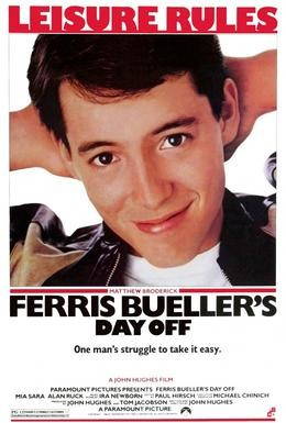 Постер фильма Выходной день Ферриса Бьюллера (1986)