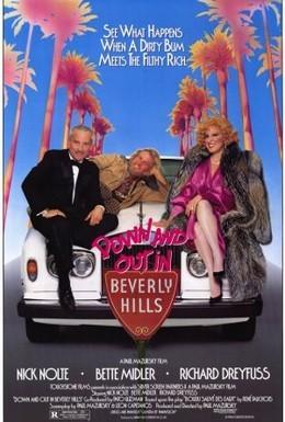 Постер фильма Без гроша в Беверли Хиллз (1986)