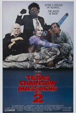 Постер фильма Техасская резня бензопилой 2 (1986)
