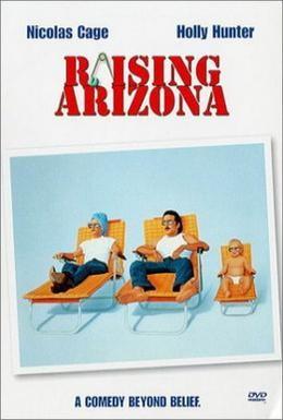 Постер фильма Воспитание Аризоны (1987)