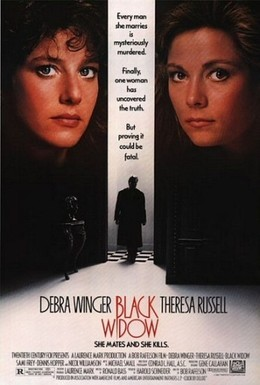 Постер фильма Черная вдова (1987)