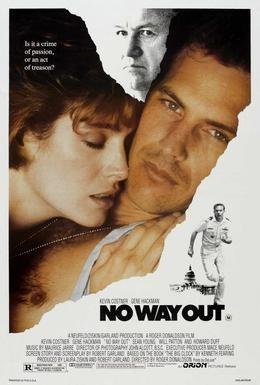 Постер фильма Нет выхода (1987)