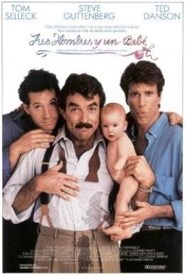 Постер фильма Трое мужчин и младенец (1987)