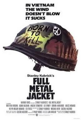 Постер фильма Цельнометаллическая оболочка (1987)