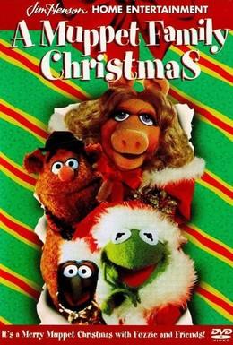 Постер фильма Семейное Рождество Маппетов (1987)