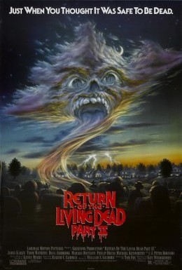 Постер фильма Возвращение живых мертвецов 2 (1988)