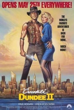 Постер фильма Крокодил Данди 2 (1988)