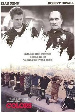 Постер фильма Цвета (1988)