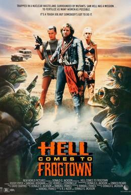 Постер фильма Ад в Лягушачьем городе (1988)