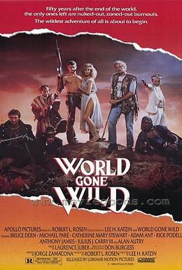 Постер фильма Обезумевший мир (1987)
