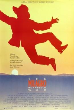 Постер фильма Война на бобовом поле Милагро (1988)