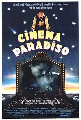 Постер фильма Новый кинотеатр Парадизо (1988)