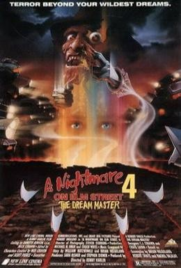 Постер фильма Кошмар на улице Вязов 4: Повелитель сна (1988)