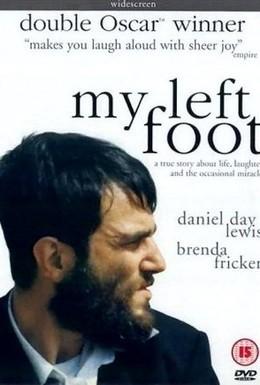Постер фильма Моя левая нога (1989)