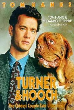 Постер фильма Тёрнер и Хуч (1989)