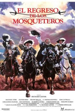 Постер фильма Возвращение мушкетеров (1989)