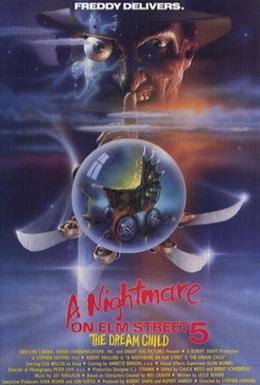 Постер фильма Кошмар на улице Вязов 5: Дитя сна (1989)