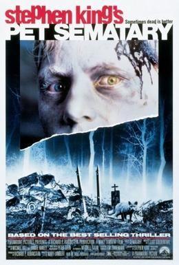 Постер фильма Кладбище домашних животных (1989)