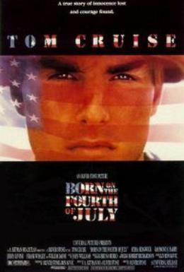 Постер фильма Рожденный четвертого июля (1989)