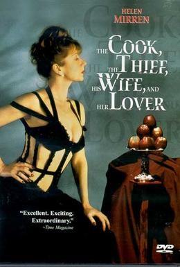 Постер фильма Повар, вор, его жена и её любовник (1989)