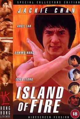Постер фильма Остров огня (1990)