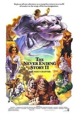 Постер фильма Бесконечная история 2: Новая глава (1990)