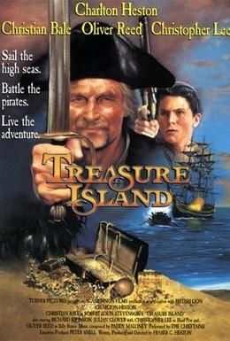 Постер фильма Остров сокровищ (1990)