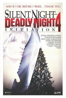 Постер фильма Инициация: Тихая ночь, смертельная ночь 4 (1990)