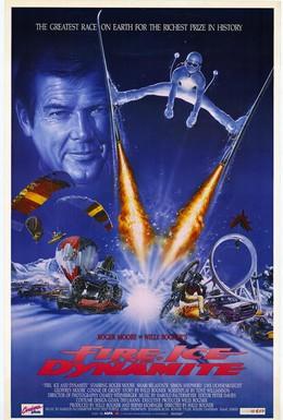 Постер фильма Огонь, лёд и динамит (1990)