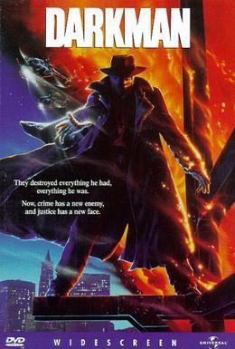 Постер фильма Человек тьмы (1990)