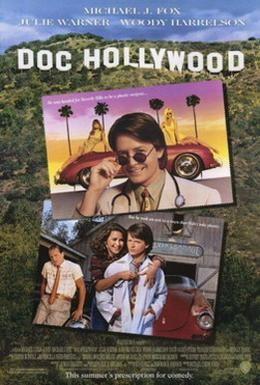 Постер фильма Доктор Голливуд (1991)