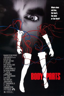 Постер фильма Расчлененное тело (1991)